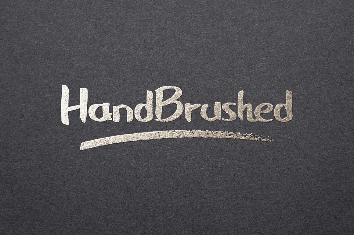 HandBrushed Font example image 4