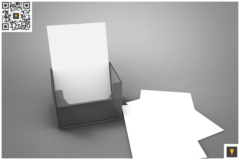 Flyer Holder 3D Render example image 8