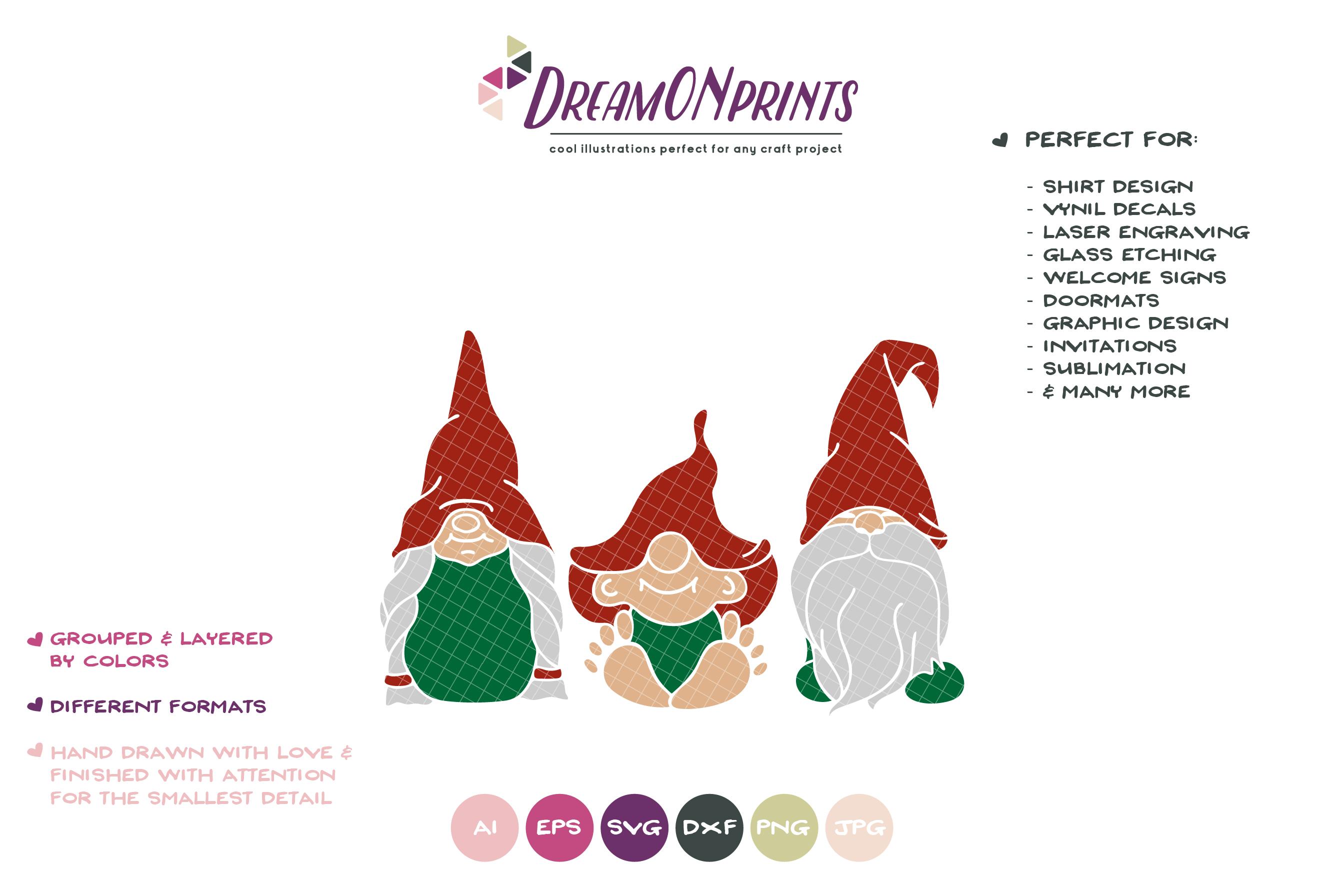 Christmas Gnomes Svg.Christmas Gnome Svg Gnomes Family