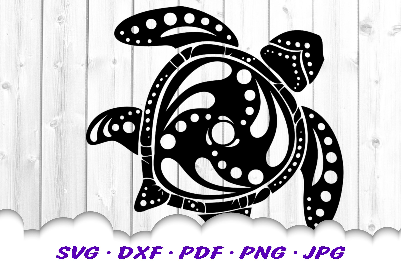 Mandala Sea Turtle SVG DXF Cut Files Crafters Bundle example image 7