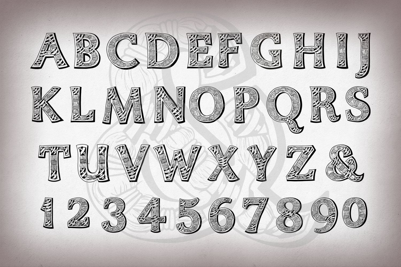 Zentyp font example image 2