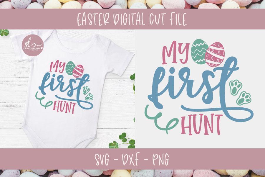 Easter Bundle Vol. 2 - 10 Easter Designs - SVG, DXF & PNG example image 6