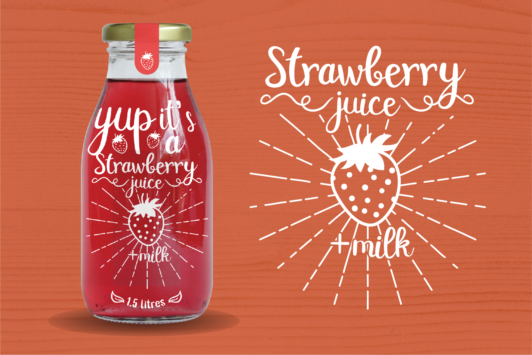 Double Smoothie Font Duo and Family example image 10