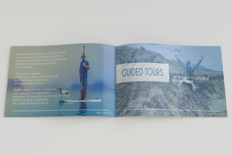 Travel Agency Printable Catalogue - A5-26 PSD Templates example image 8