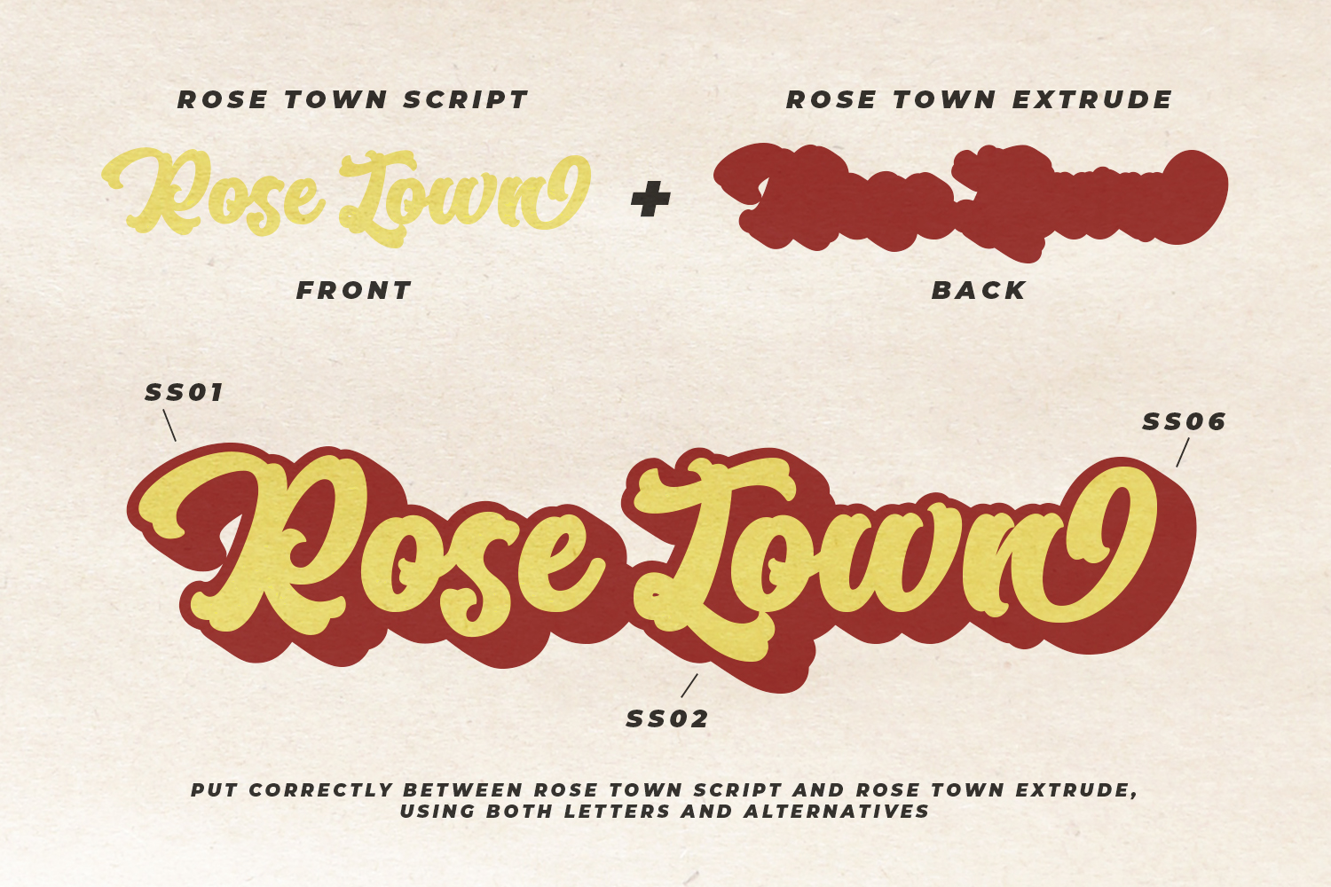 Rose Town Script Font example image 6