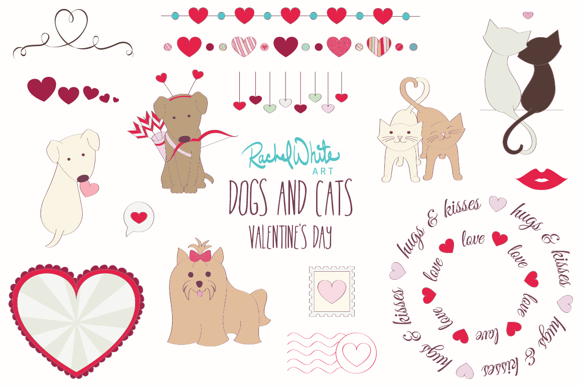 Dogs & Cats, Valentine's Day example image 3