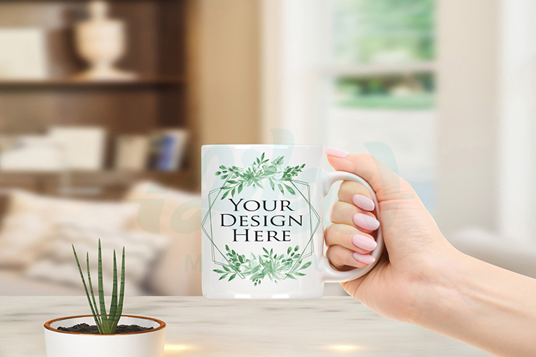 Bundle of 12 Mugs coffee Mockup example image 3