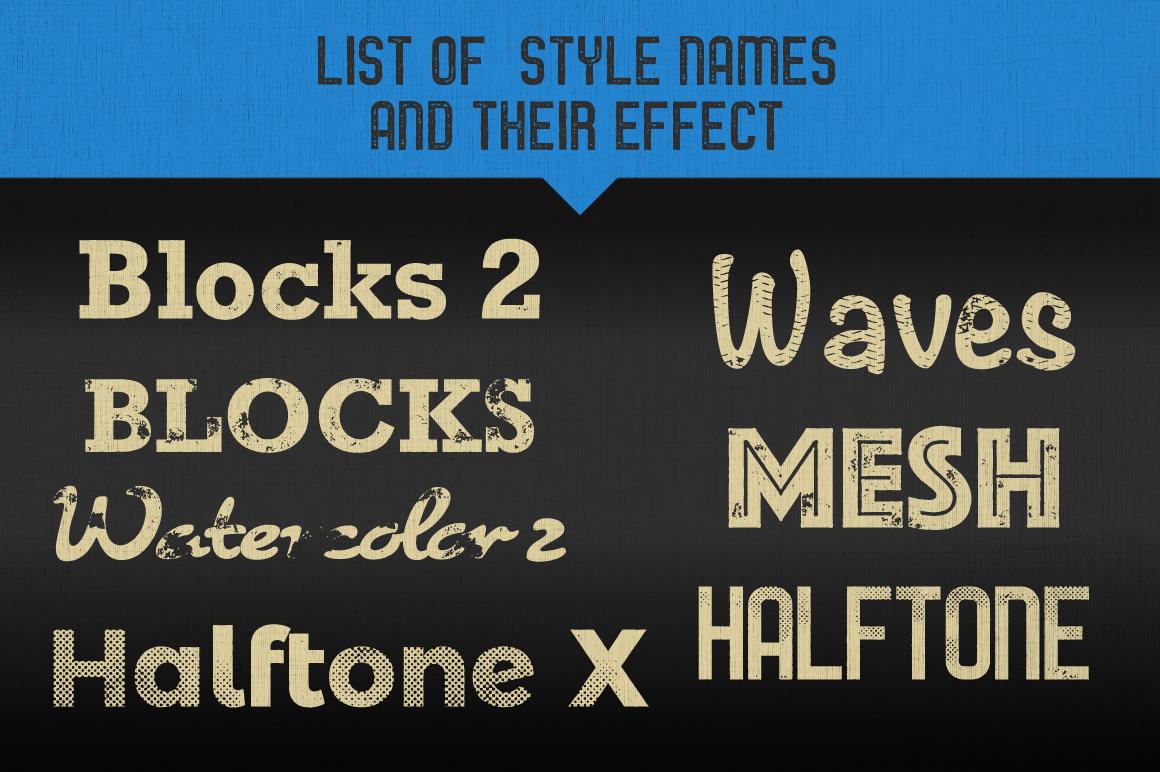 Letterpress Vector Textures example image 14