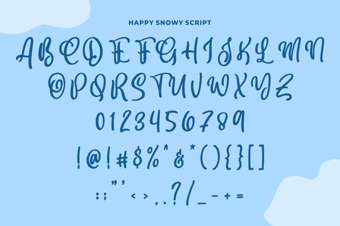 Happy Snowy example image 5