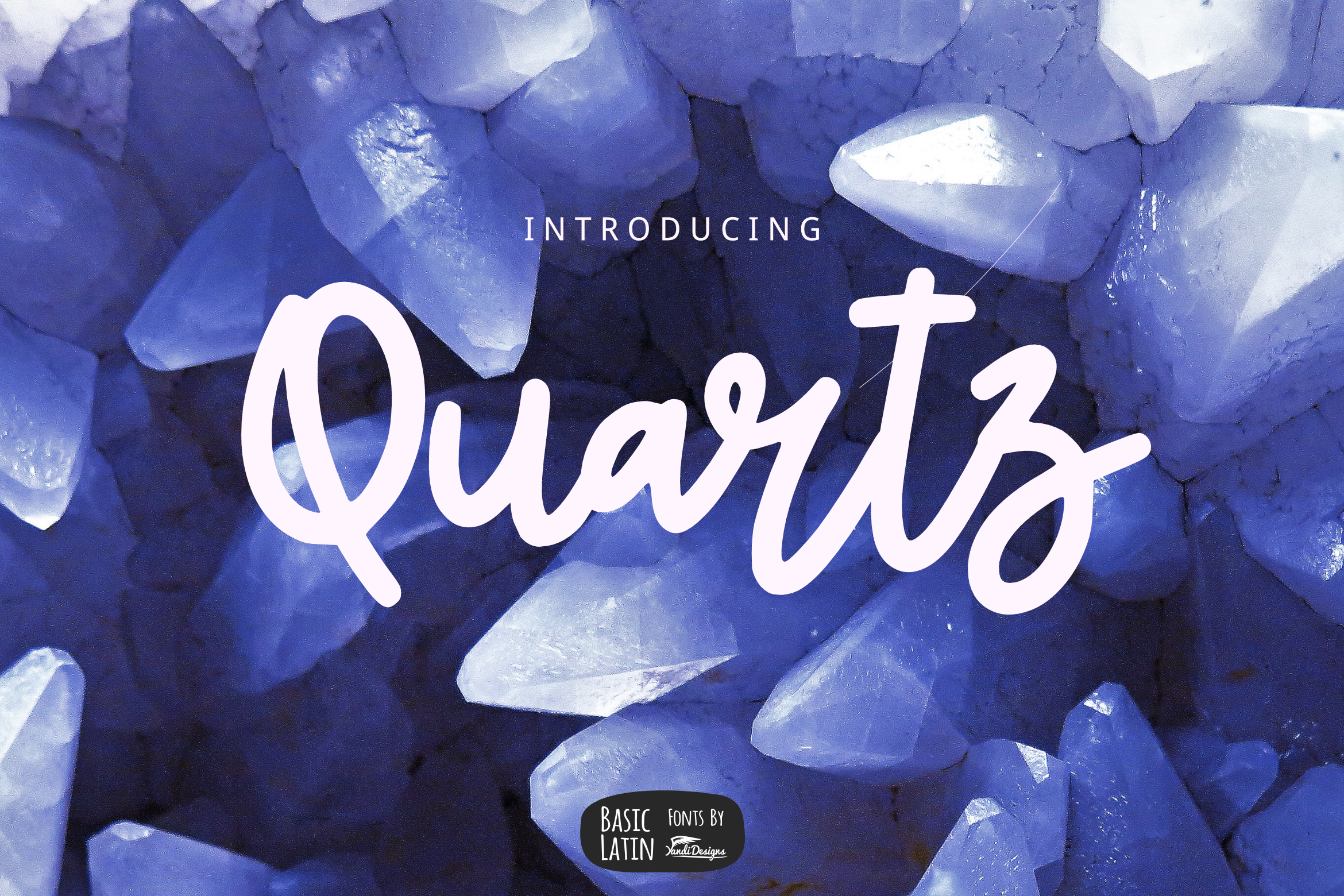 Quartz Bold Line Script example image 1