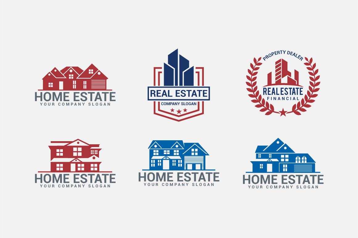 Real Estate Logo & Badges example image 5