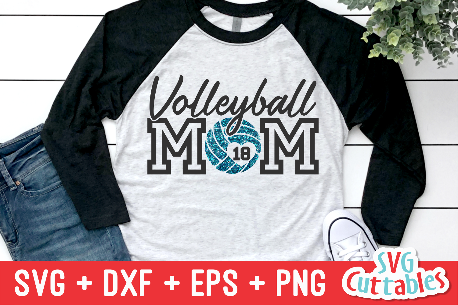 Volleyball Mom   Volleyball svg Cut File example image 1