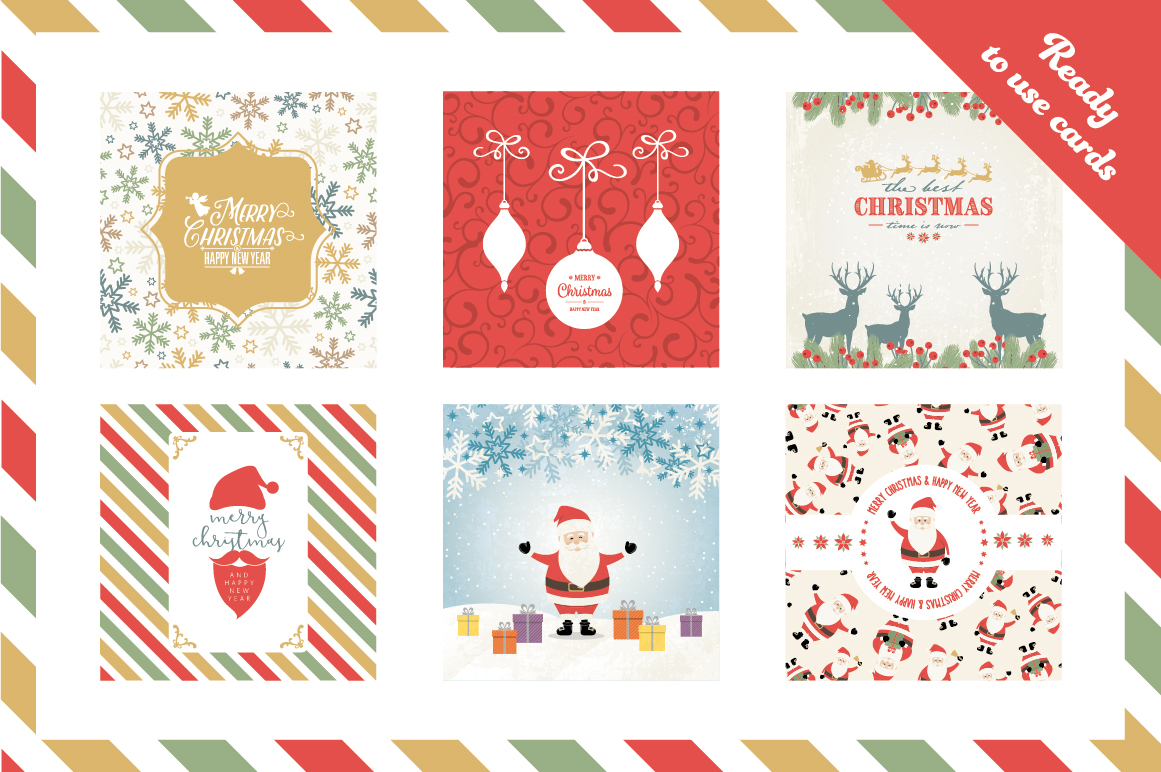 Ultimate Vector Christmas Collection example image 8