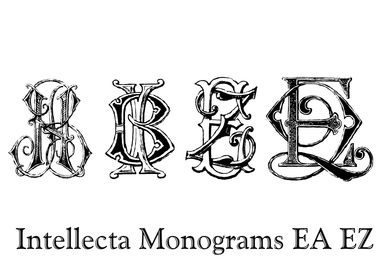 Intellecta Monograms EA EZ example image 6