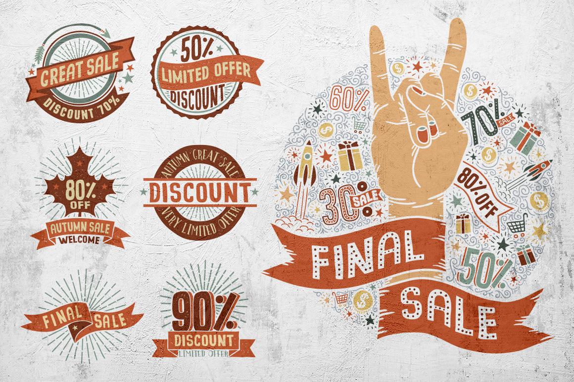 Sale Discount Set example image 4
