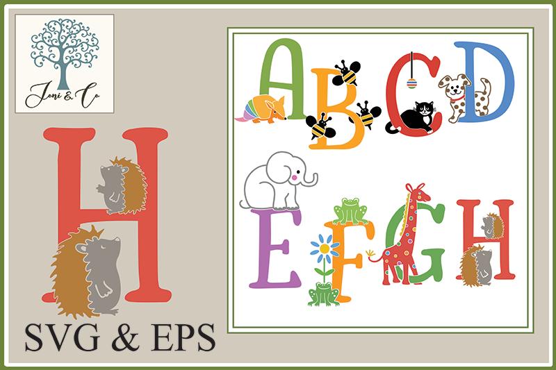 Children's Illustrated Animal Alphabet example image 2