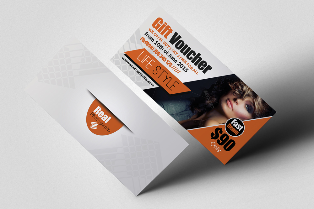 Beauty Fashion Promotion Gift Vouchers example image 2