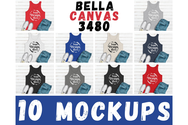 1000 Huge Bundle Shirt Mockup, Bella Canvas, Gildan Mockups example image 9