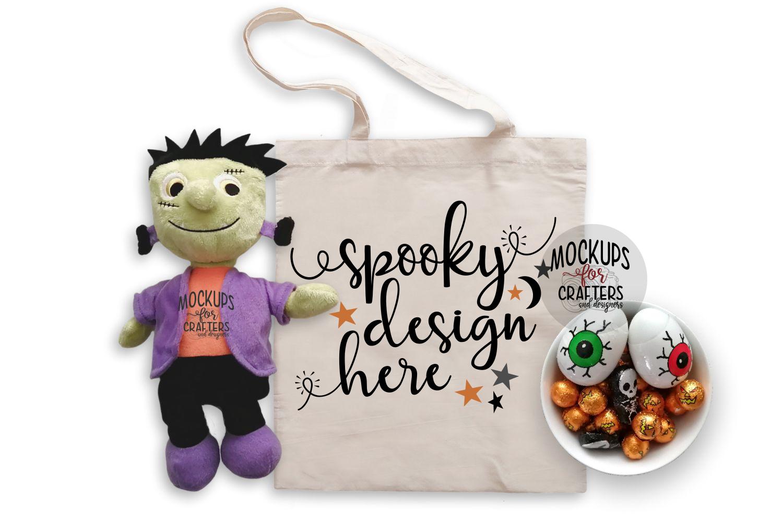 Halloween, SPOOKY MOCK-UP Bundle #2 - FIVE MOCK-UPS example image 6
