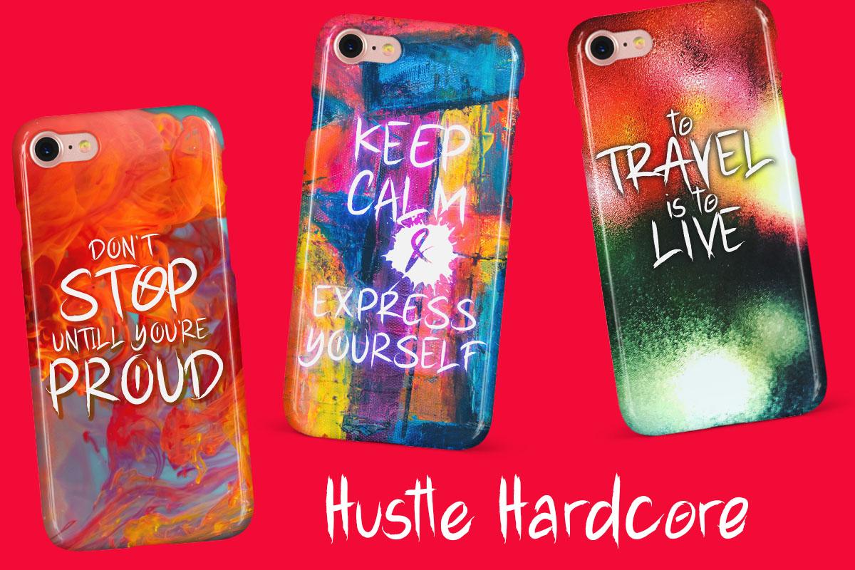 Hustle Hardcore - Brush Font example image 9