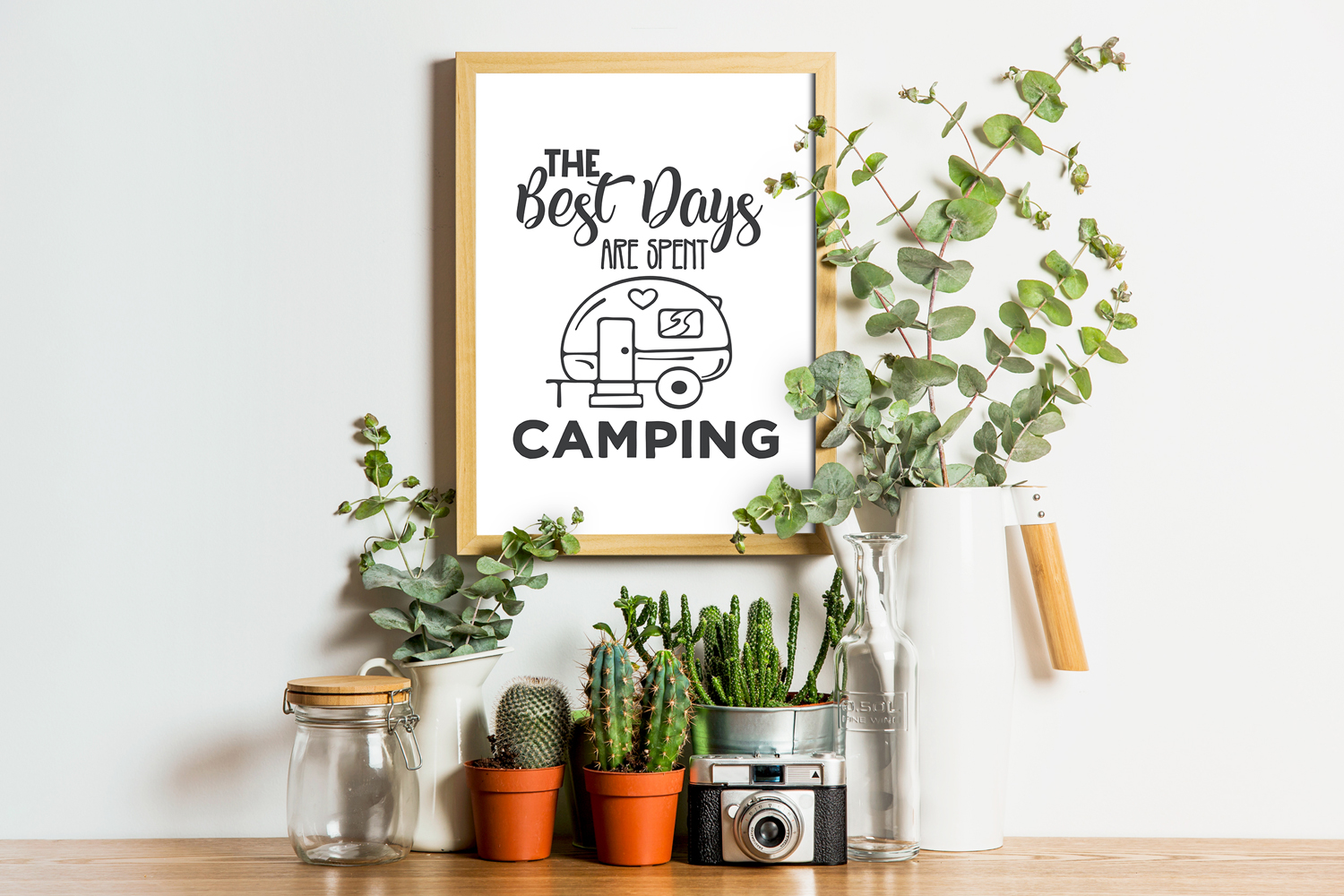 Camping SVG Bundle. example image 3