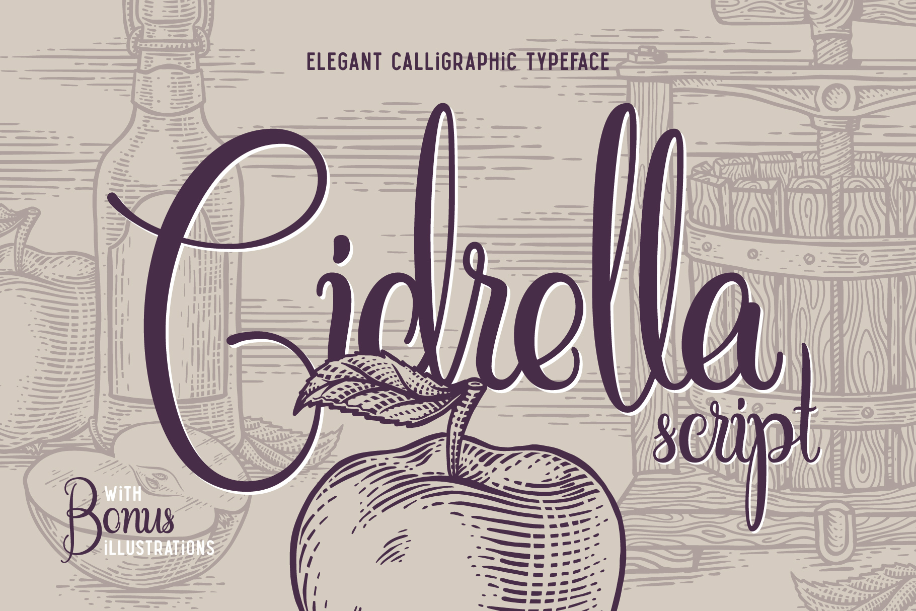 Cidrella script & graphics example image 1