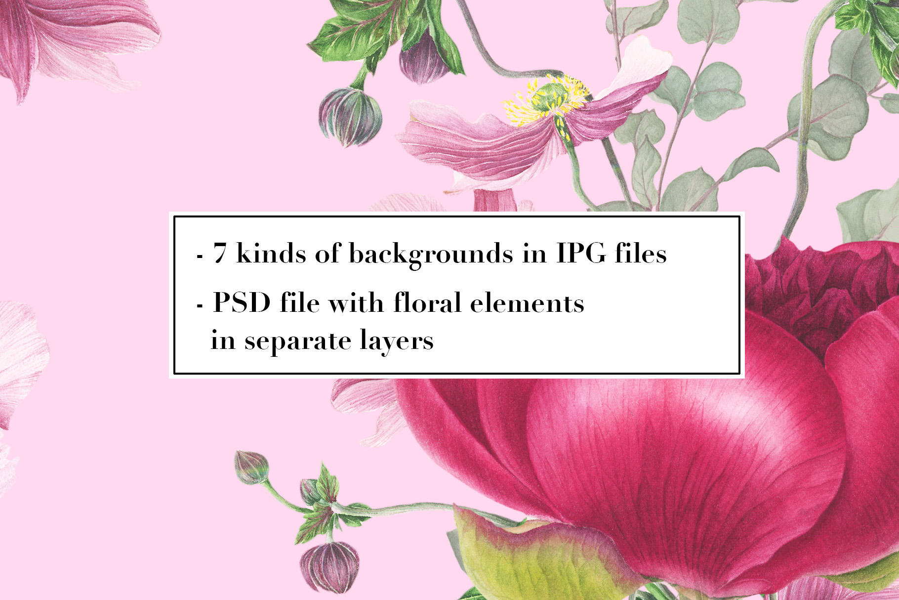 Flowers bundle example image 20