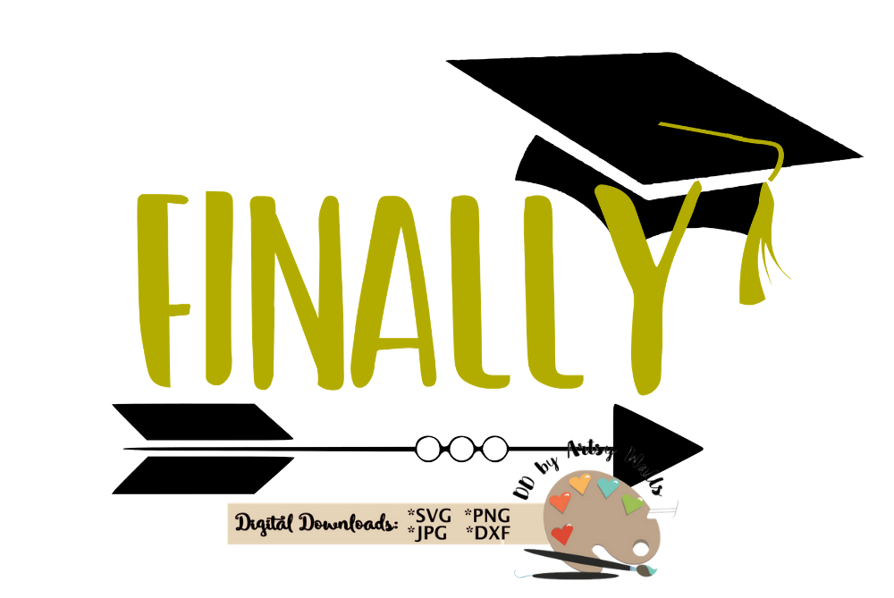 Finally Senior 2020 svg cut file Graduation cap 2020 svg