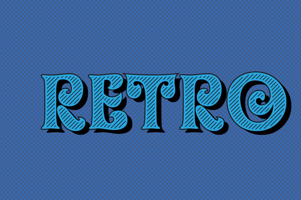 10 Retro Vintage Graphic Style for Adobe Illustrator example image 4