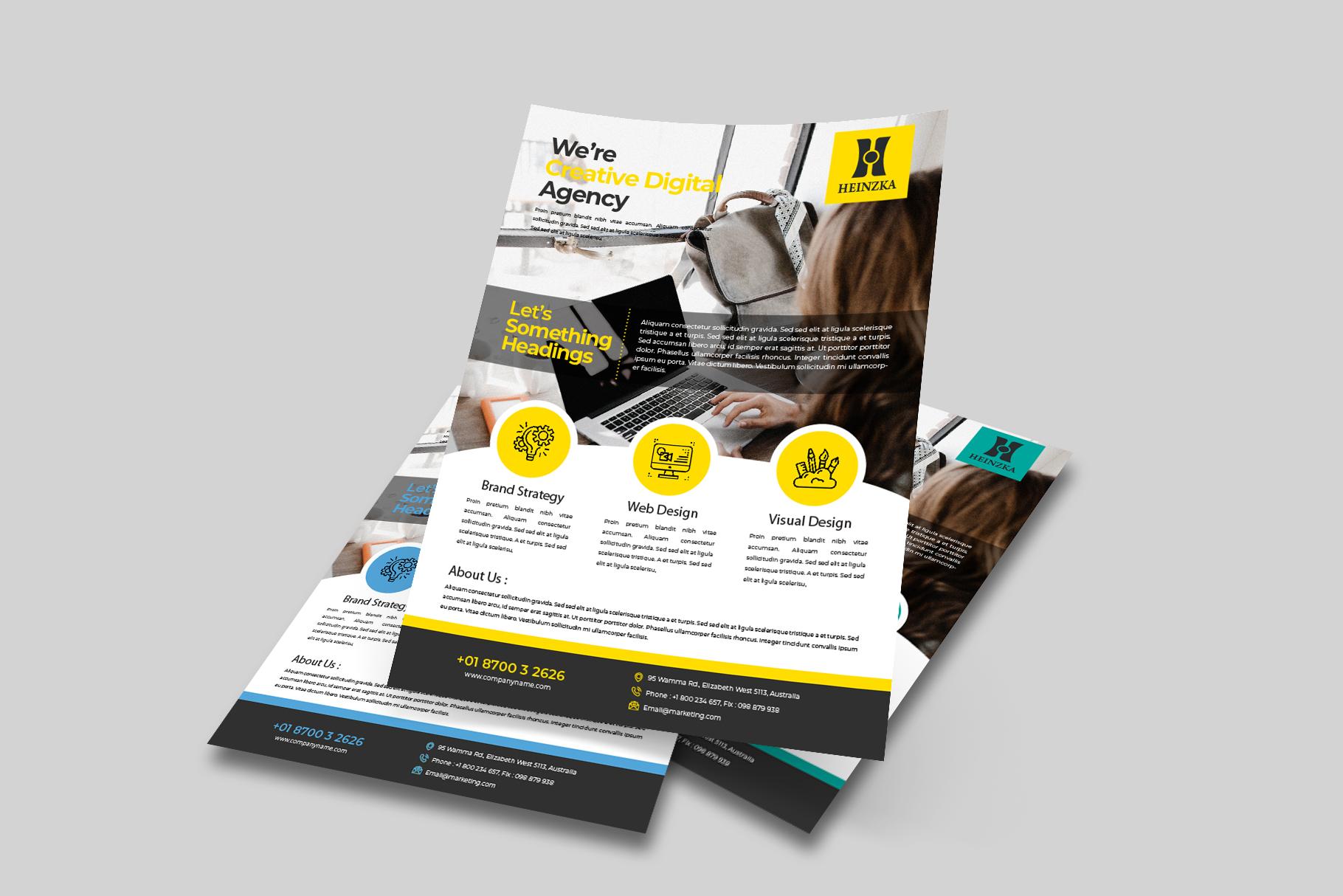 Creative Corporate Flyer Vol. 01 example image 2