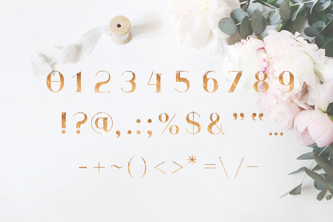ROSE GOLD WEDDING SET example image 4