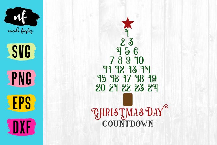 Christmas Countdown SVG Bundle example image 4