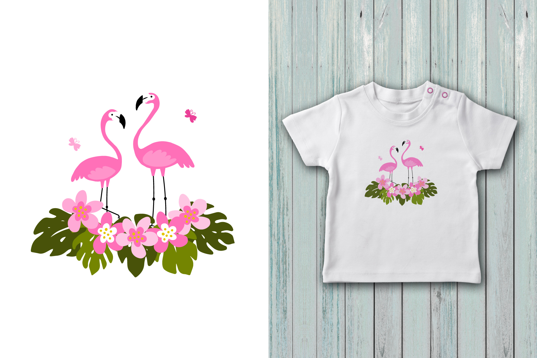 Hello summer! Tropical collection example image 7