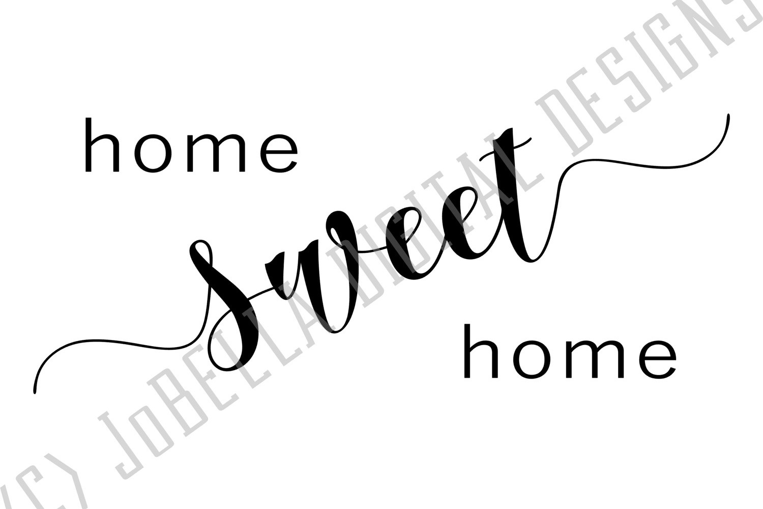 Home Sweet Home SVG and Printable Farmhouse Design example image 2