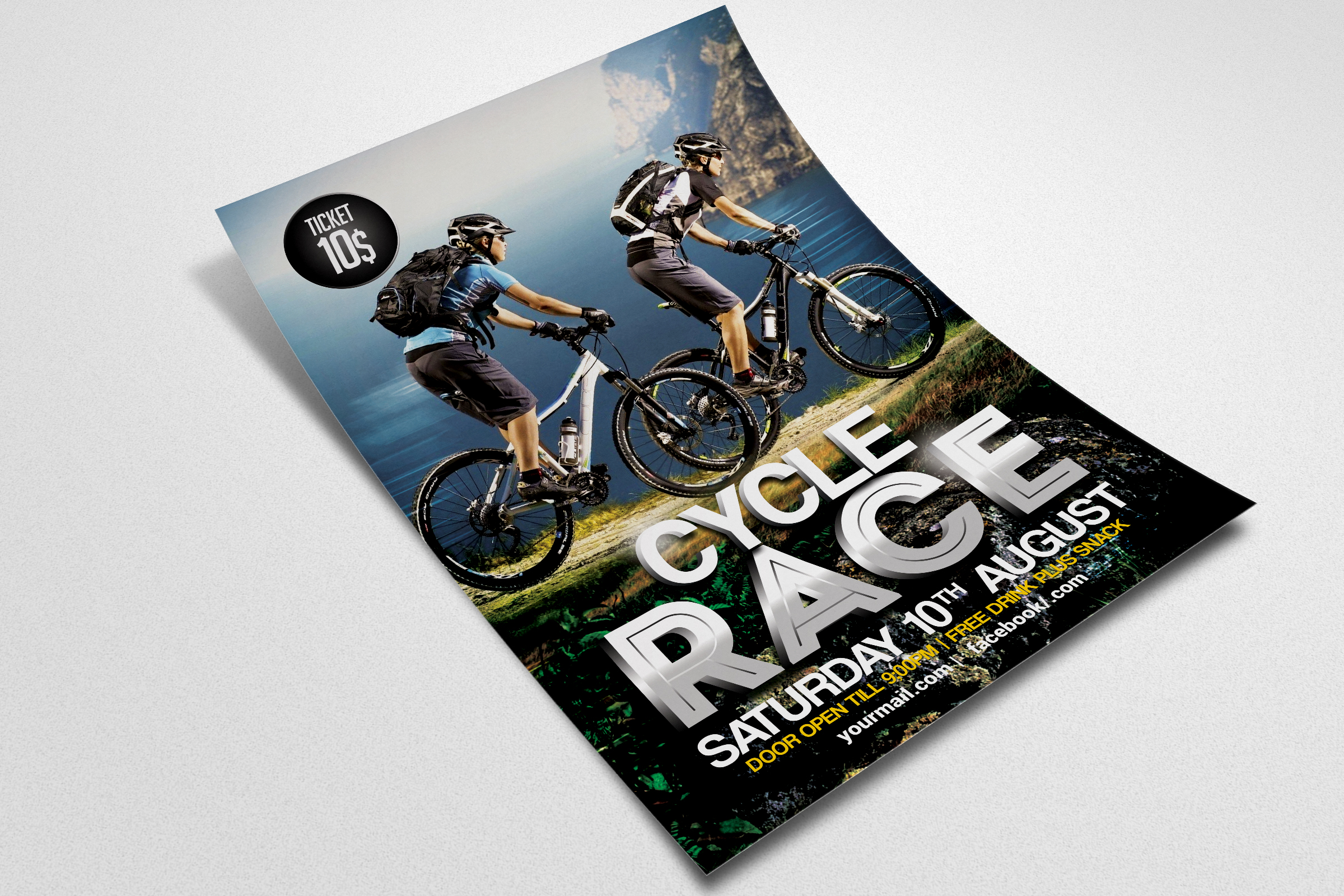 Mountain Bicycle Flyer example image 2
