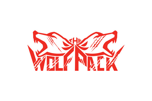 The Wolf Pack Head Retro example image 1