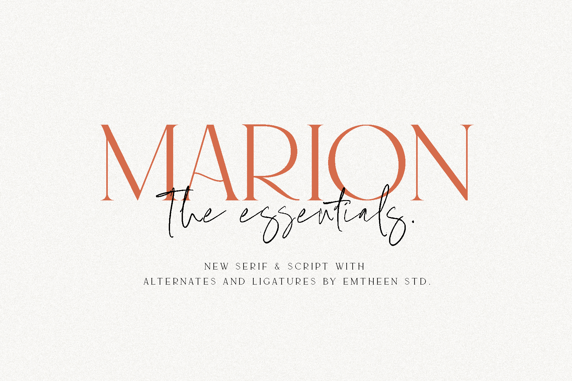 MARION & The Essentials example image 1
