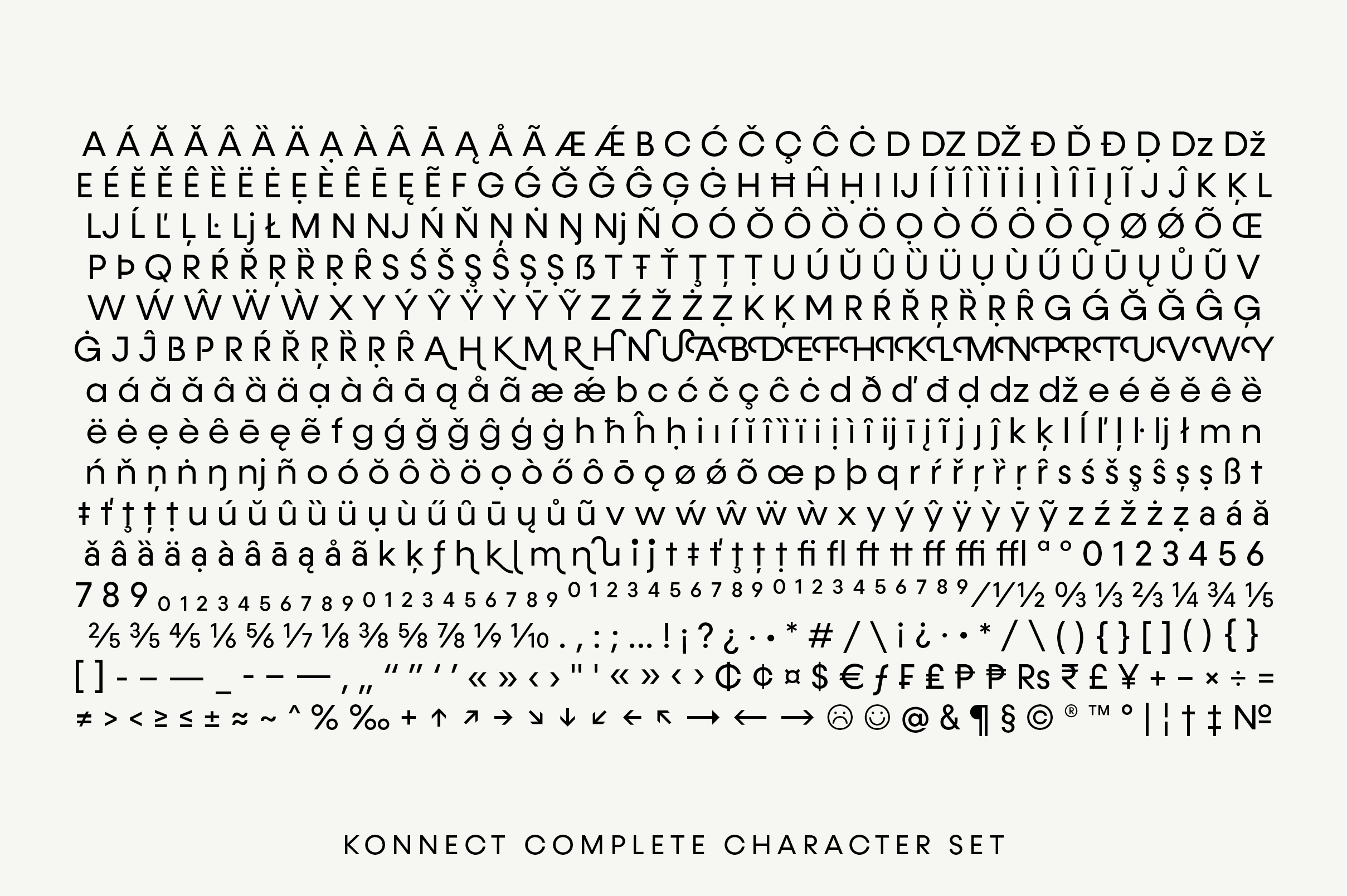 Konnect Font Family example image 12