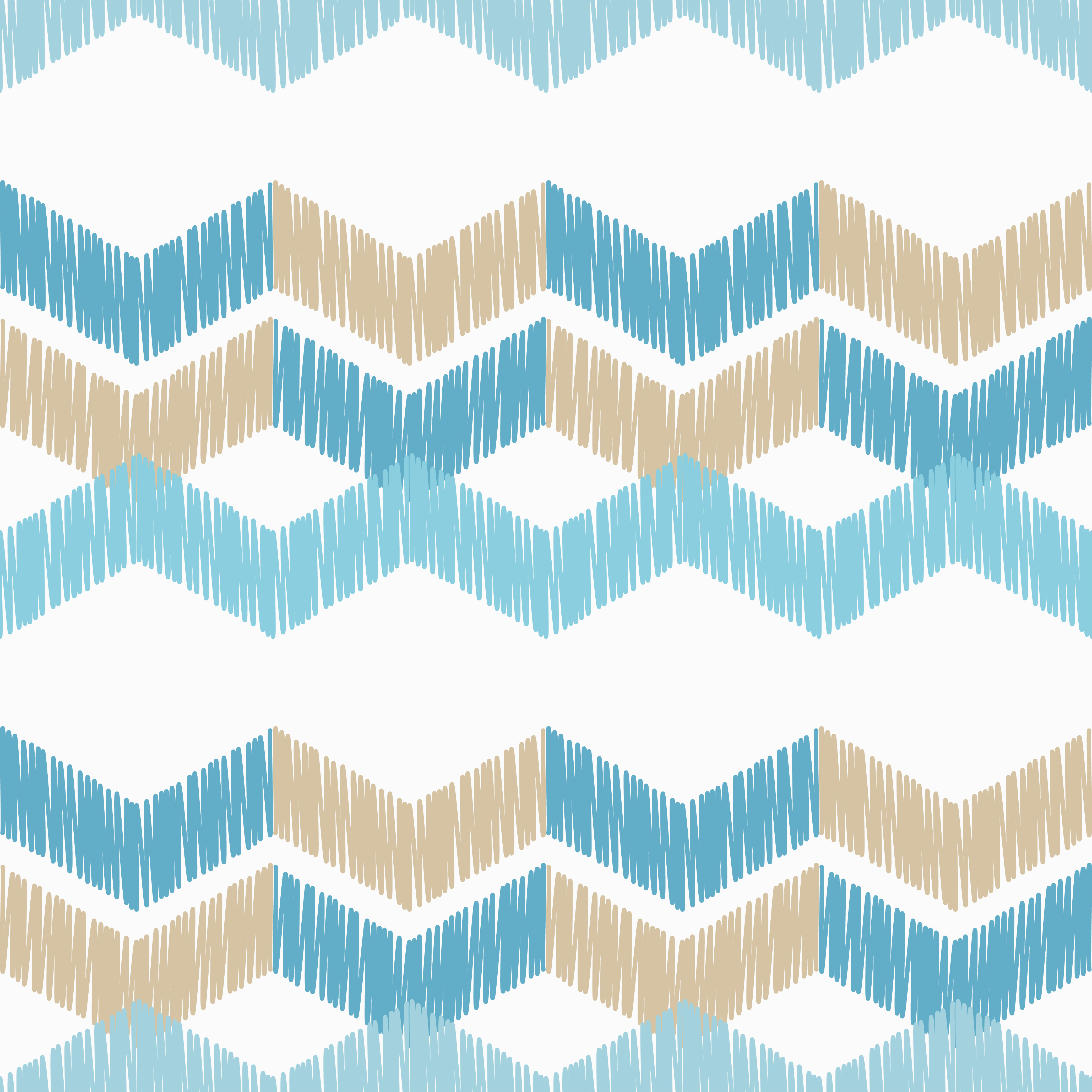 6 Ethnic boho seamless pattern. Scribble texture.  example image 2