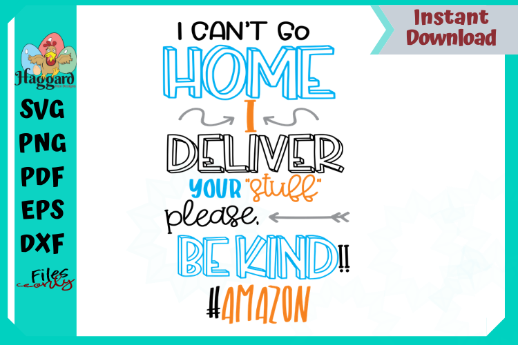 I can't stay home I deliver your stuff bundle example image 4