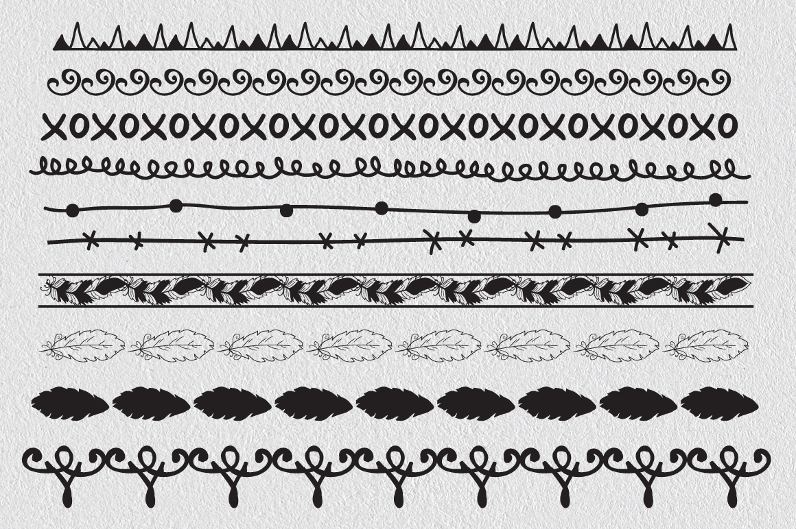 Over 60 Decorative Borders example image 6