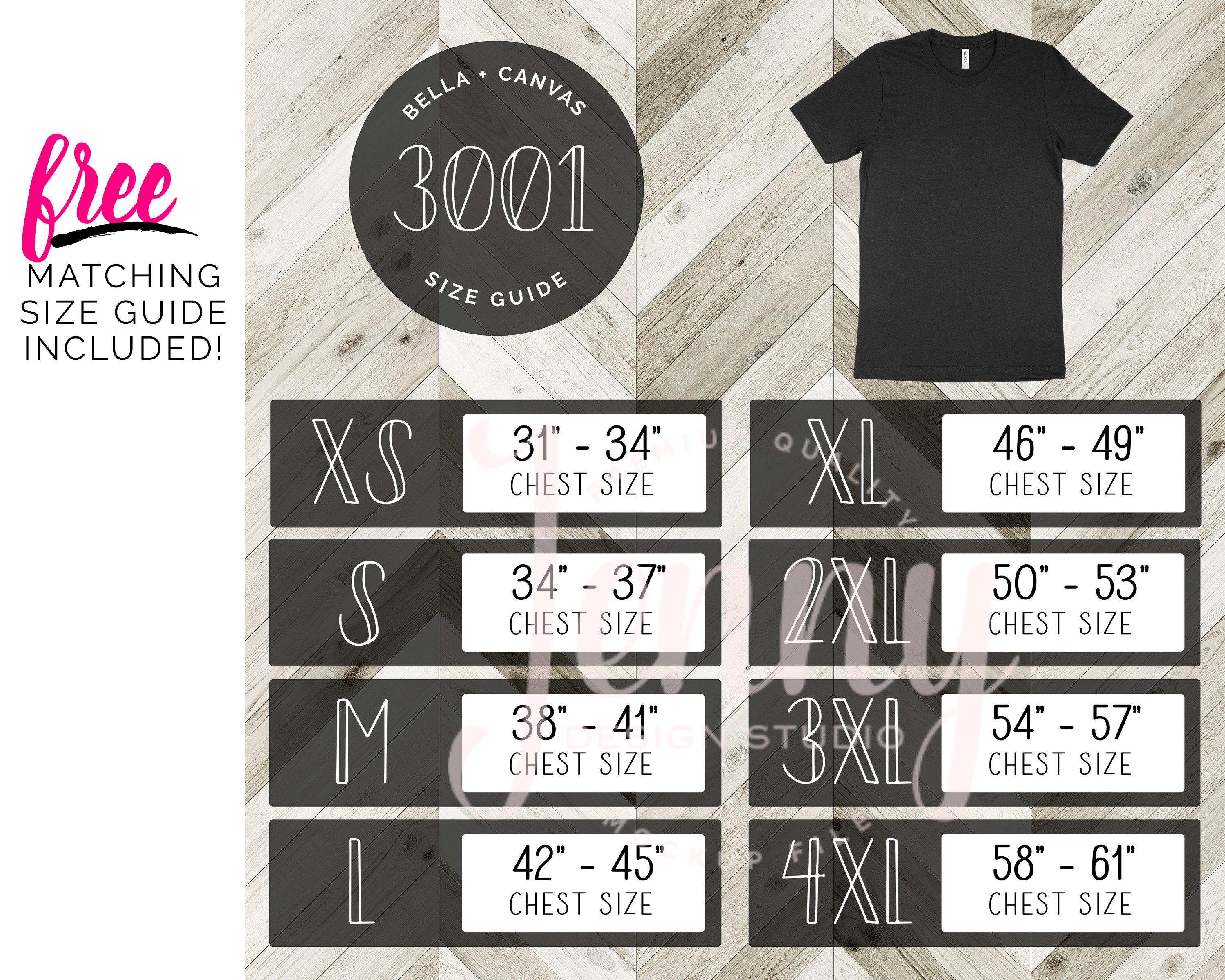 Bella Canvas 3001 Unisex Mockup Bundle, 95 Mockups example image 2