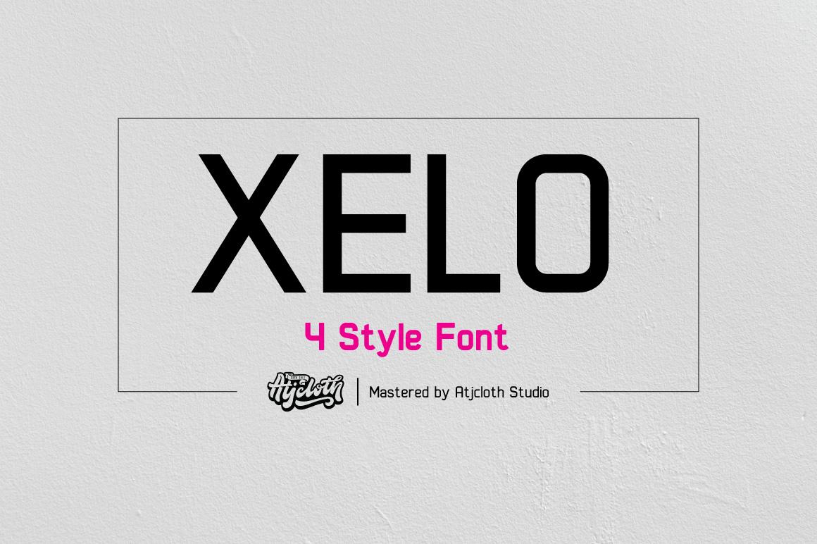 Xelo - 4 Style example image 1
