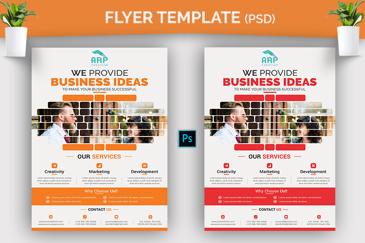 Corporate Flyer Template example image 2