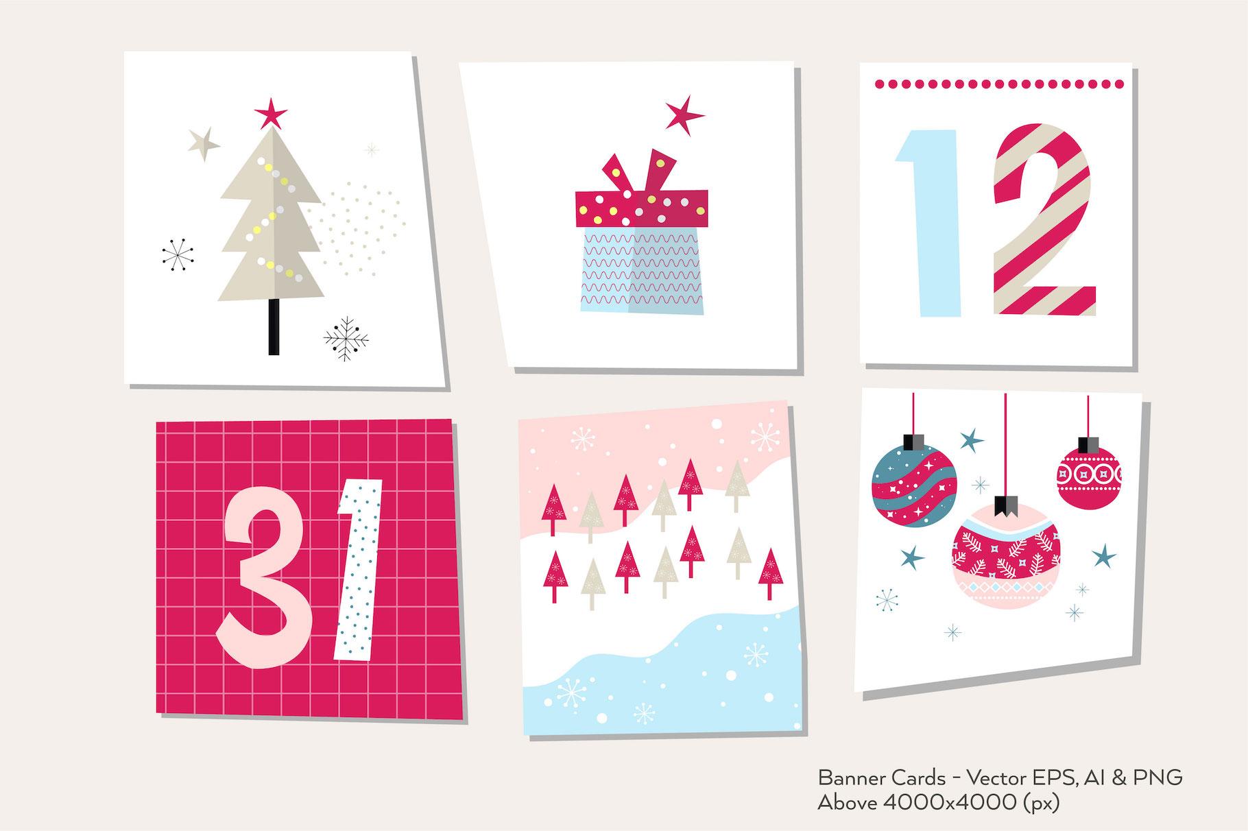Happy Flat Holiday! Design Kit example image 7