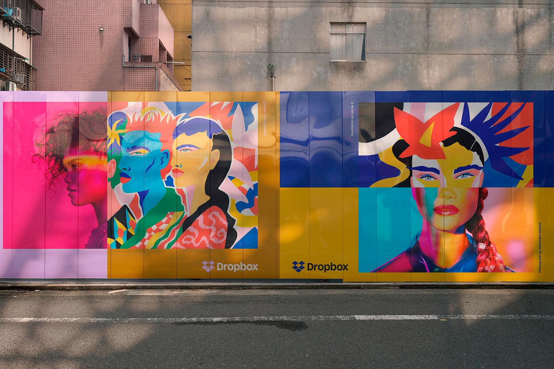 12 Realistic Mural Street Mockup - PSD example image 20