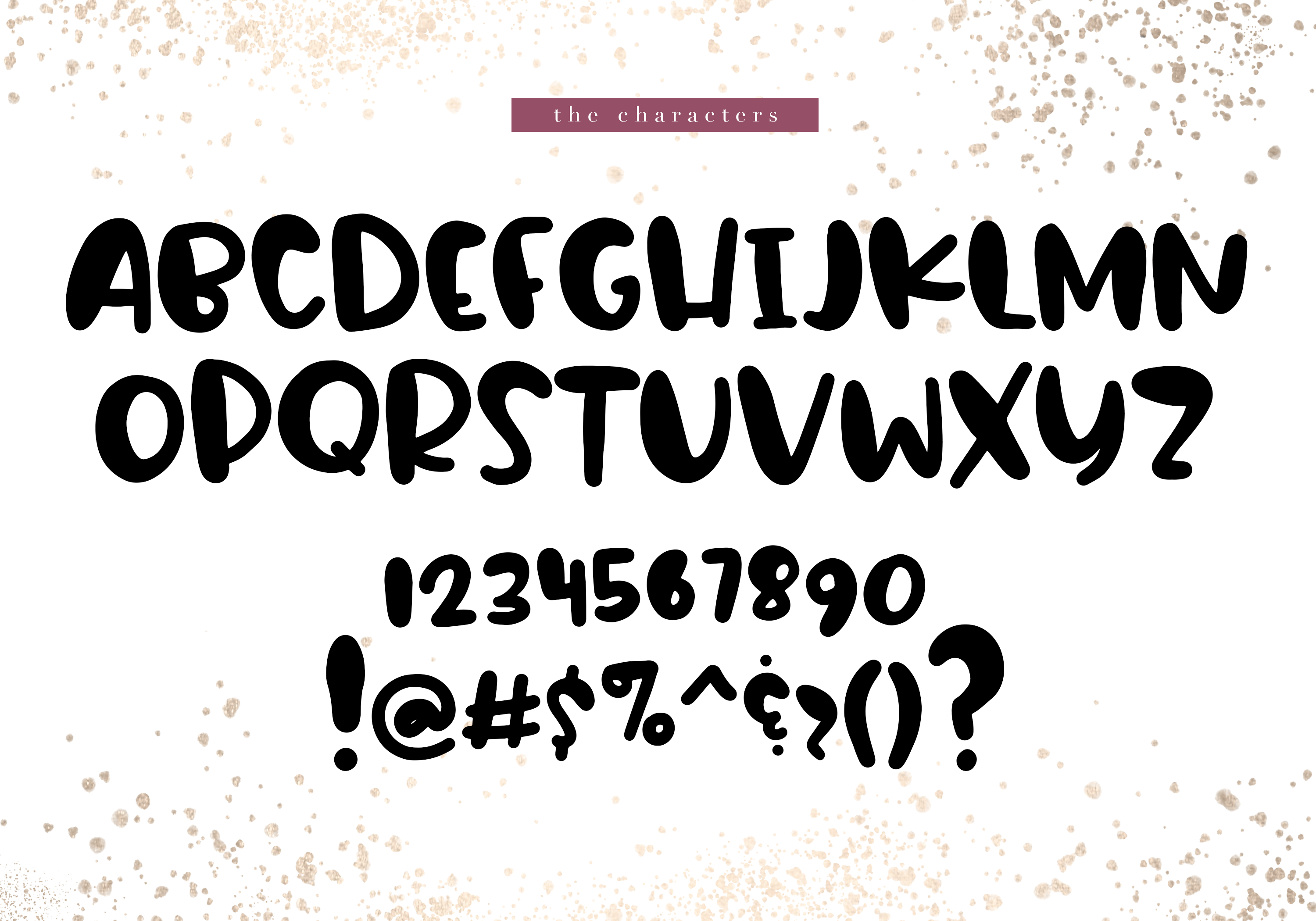 Apple Cider - A Bubbly Handwritten Font example image 7