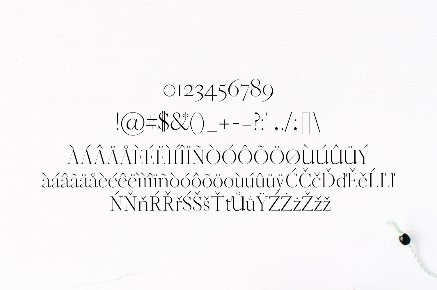Jaavon Serif Font Family example image 4