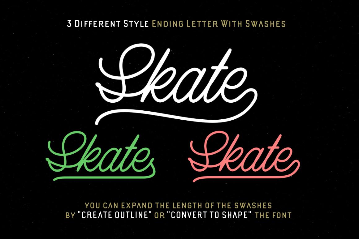 Lazy Ride  - Script & Sans example image 7