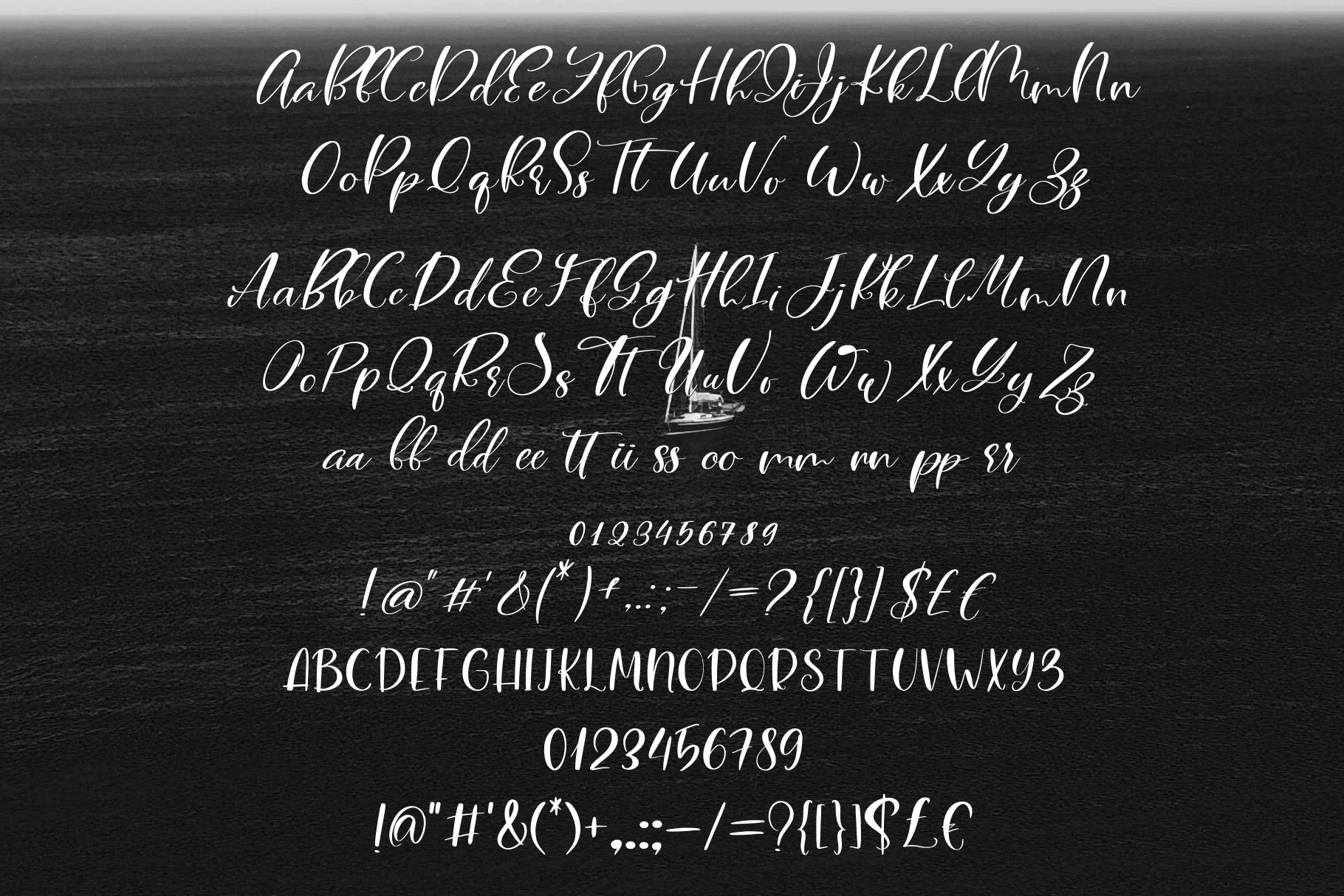 Blacksea Font Duo example image 7
